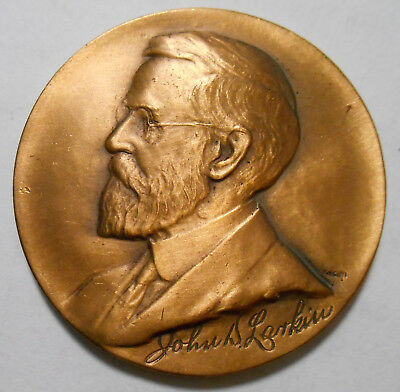 1925 Bronze Medal Coin Larkin Soap Co. 50 Years 1875 - 1925 Collectible