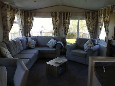 hoilday let 2 bedroom static caravan in Northumberland