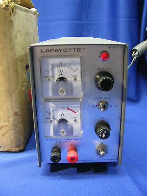 Vintage Lafayette Dc Solid State Power Supply