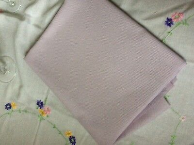 Aida 1m x 80cm 14 Count Lilac Cross Stitch Fabric