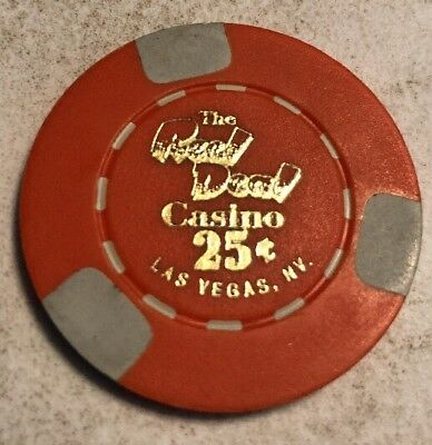 The Real Deal $.25 Casino Chip Las Vegas Nevada 2.99 Shipping