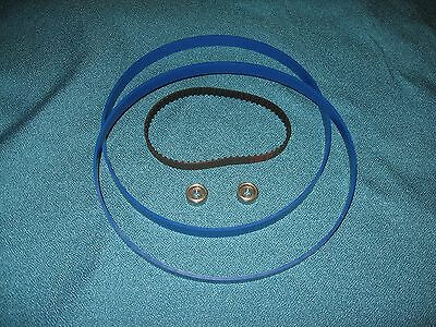 2 Blue Max Band Saw Tires Drive Belt And New Thrust Bearings For Ryobi Bs901 T1