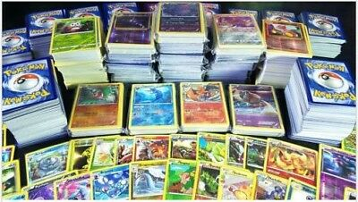 POKEMON TCG 60 Card Lot GUARANTEED 1 GX +  COMMON, UNCOMMON, RARES & HOLOS