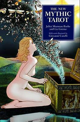 The New Mythic Tarot by Liz Greene Hardcover Book Free Shipping!