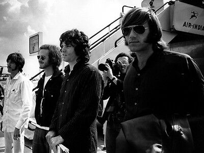 The Doors Rare BW 1968 Jim Morrison Vintage Rock Band Giant Wall Print POSTER