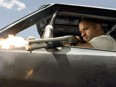 Fast & Furious 4 Vin Diesel Dominic Toretto Huge Giant Wall Print POSTER
