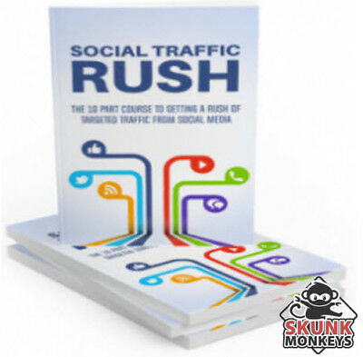 New Social Traffic Rush With Master Resell Rights + 10 Bonus eBooks W/ MRR PLR