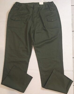 Scout Uniforms BSA Action Fit Green Uniform Pants for Men Sz 48