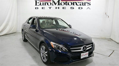 Mercedes-Benz C-Class C 300 4MATIC Sedan mercedes benz c300 c 300 4matic awd blue demo 17 18 used navigation blind spot