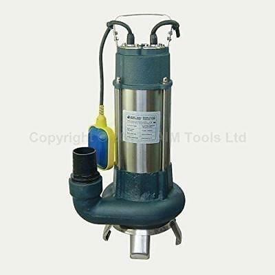 Heavy Duty 1.1Kw Submersible Sewage Dirty Waste Water Pump Floating Switch