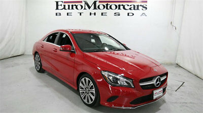 Mercedes-Benz CLA CLA 250 4MATIC Coupe mercedes benz cla250 cla 4matic awd red 17 18 used navigation blind spot coupe