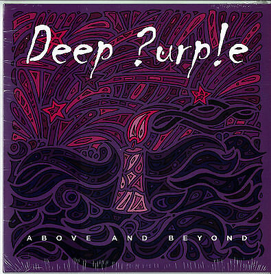 "Deep Purple-Above And Beyond- 7"" purple-vinyl Limited 1070/2000"