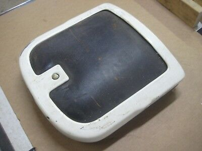 Antique Emil Paidar Barber Chair Parts Seat Back Cushion and Frame