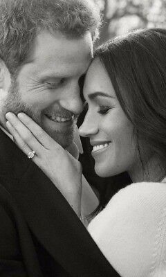 Meghan Markle Et Harry Photo Neuf 10 X 15 Cm
