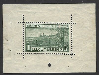 LUXEMBOURG-  1923 The Rare Sheet  #151  UNUSED