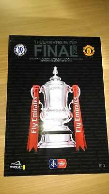 FA Cup 2018 Chelsea v Manchester United programme