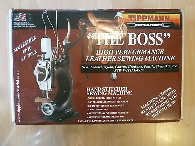 """Tippmann Boss Leather Sewing Machine up to 3/4"""" thick"""