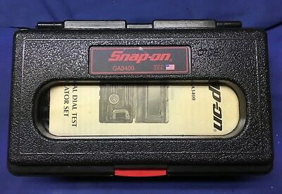 Snap On GA3400 UNIVERSAL DIAL INDICATOR In Case! Un-Used OUTSTANDING CONDITION