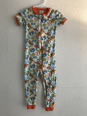 Children's Place 2T One Piece Short Sleeve Footless Long Pants Pajamas Like New