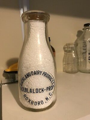 Richland Dairy Products V.O. Blalock Pint From Roxboro NC