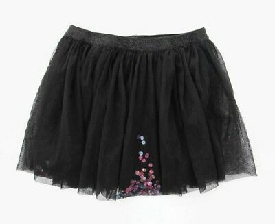 DOLLIE & ME Youth Size 7-8 Black Tutu Skirt with Sequins