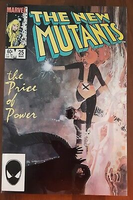 The New Mutants #25 (1985, Marvel) NM- 1st Cameo App of Legion