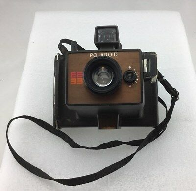 Polaroid Model EE33 Film Camera With Case 1970's Vintage