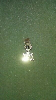 Marvin the Martian 14k solid gold charm
