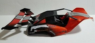27e0f12dafd NEW BRIGHT RC PRO DUNE REBEL 1:12 REPLACEMENT PARTS red buggy body/shell