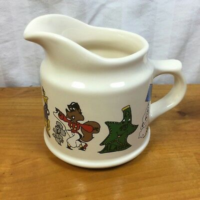 Wade Porcelain Love Jim Beam Creamer Animated Characters R Ellis  Vintage