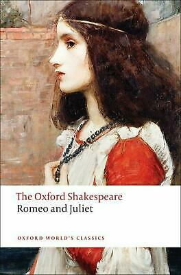 Romeo and Juliet by William Shakespeare (English) Paperback Book Free Shipping!