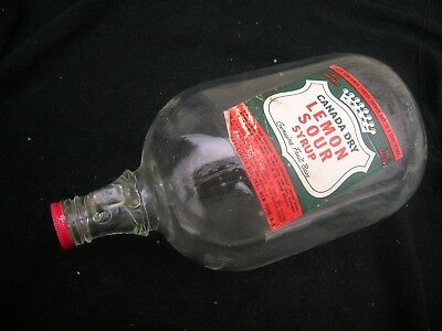 One Gallon Canada Dry Syrup Jug