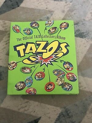 1995 Incomplete Tazos Collection