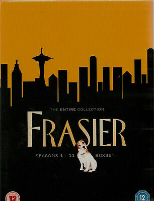FRASIER Complete Series Brand New but UNSEALED Region  2 UPC: 5014437192233