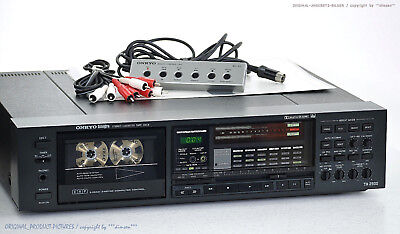 ONKYO Integra TA-2900 High-End Cassette Deck+Zubehör! Revidiert+1J.Garantie! 1A!