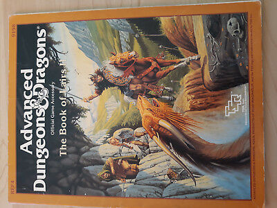 AD&D TSR -The Book of Lairs II