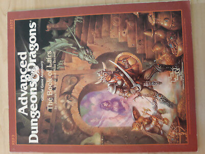 AD&D TSR -The Book of Lairs I