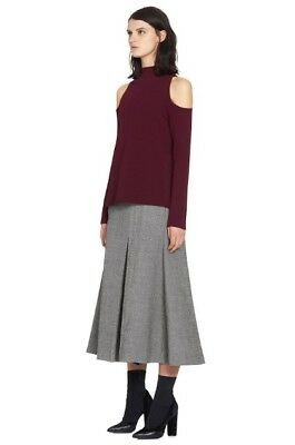 CAMILLA & MARC Lindevall Cut Out Cold Shoulder Top | Jumper/Sweater Winter Wine