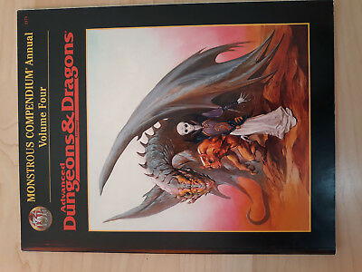 AD&D 2nd. Edition TSR Monstrous Compendium Annual Four