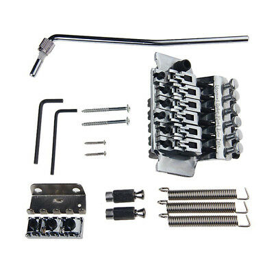 Double Locking Tremolo System Bridge For Electric Guitar Floyd Rose Parts S S9I4