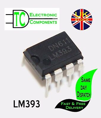 LM393 Low power Low offset Dual Comparator x5 **UK Seller**