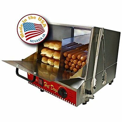 Steamers Paragon Classic Hot Dog Hut Merchandiser For Professional Requiring