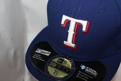 TEXAS RANGERS NEW Era MLB Authentic Collection 59fifty b8b179d6cae