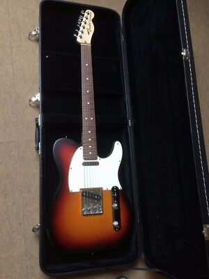 "Fender Telecaster ""Highway One"" Made in USA. inkl. Koffer"