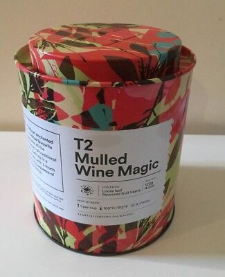 T2 Mulled Wine Magic ~ T2 Tea Limited Edition Fruit Tisane with Tin Loose Leaf