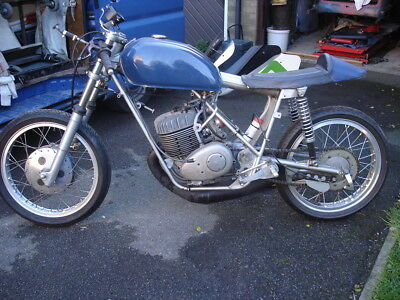 Classic racing AJS 250 2 stroke Six speed gearbox