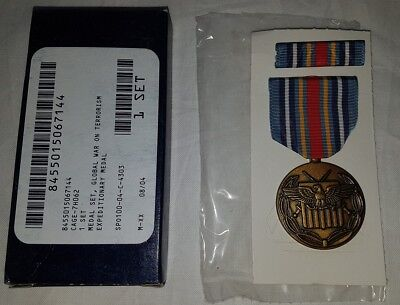 US ARMY Medaille - Global War on Terrorism Expeditionary Medal - made in USA