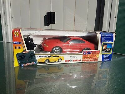 Vintage Rare Radio Controlled 1994 Ford Mustang GT by New Bright,not Nikko Taiyo