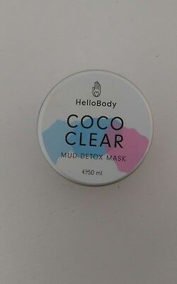 Hello Body Coco Clear Mud Detox Mask 50 ml NEU