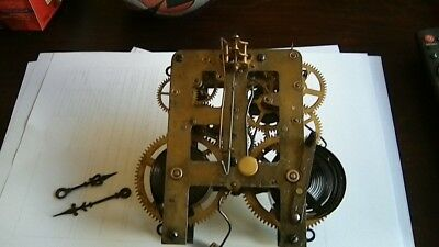 Antique waterbury session clock movement parts only